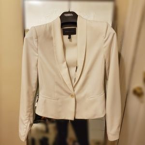 White Blazer with Cut out back detail
